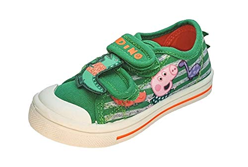 Jungen George Pig Canvas Schuhe – Kinder Sneaker, - mehrfarbig - Größe: 28 EU