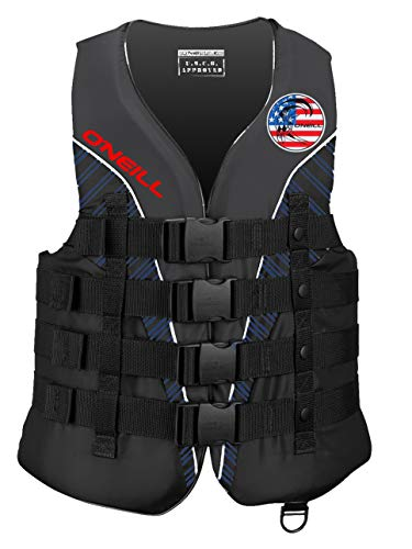 Find Discount O'Neill Mens Superlite USCG Life Vest L Patriot (4723IA)