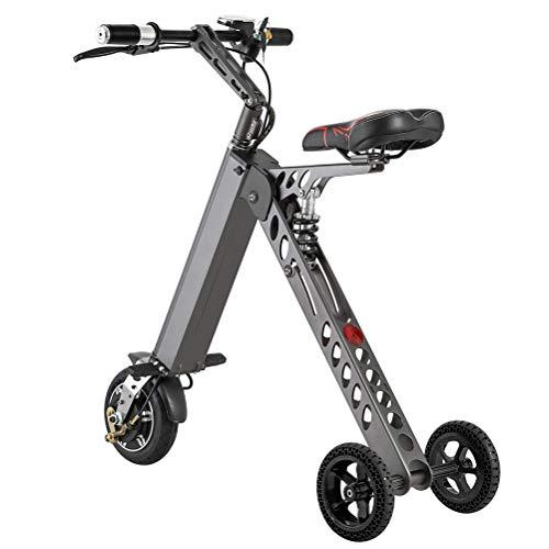 VEVC Scooter eléctrico – Patinete portátil para adultos plegable 120 kg de...