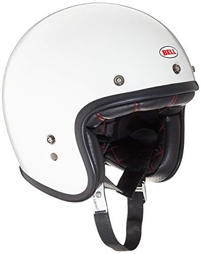 Bell Custom 500 Solid Helmet, Hombre, Vintage White, L