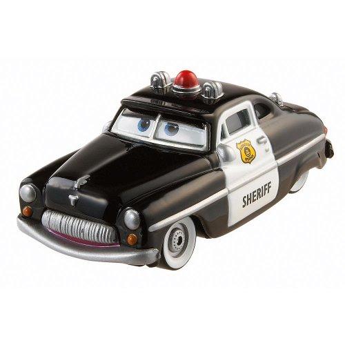 Disney/Pixar Cars, Radiator Springs Classic, Sheriff Exclusive Die-Cast Vehicle, 1:55 Scale