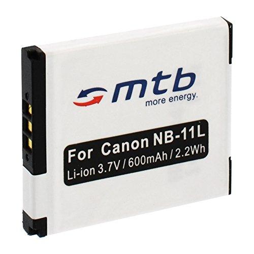 Batteria NB-11L per Canon PowerShot A2300, A2400 IS, A2500, A2600, A3400.Ixus 125 HS, 127.+ vedi lista!