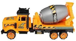 ExcLent Bebé Niños Camión Cisterna De Bomberos Construcción Camión Agitador Vehículo Vehículos Modelo Juguetes Para Niños Niños Niños Pequeños Niños Regalo - A