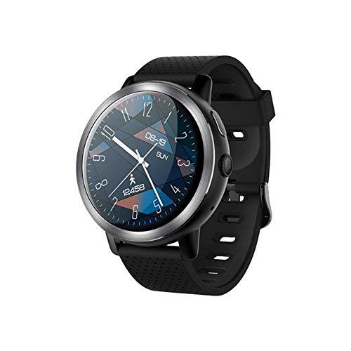 Househome LEMFO LEM8, Smartwatch Android 7.1 4G LTE, Cámara De 2MP del Teléfono del Reloj, MT6739, ROM 16GB, Traductor Incorporado, Powerbank, Bluetooth/GPS / Monitor De Ritmo Cardíaco, Negro