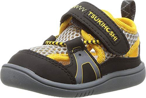 TSUKIHOSHI Kids Ibiza2 Black/Yellow - 4519-010-B/7 M US Toddler
