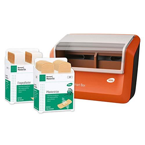 WERO Smart Box® Pflasterspender gefüllt (Textil | Hautfarben | Klassisch)