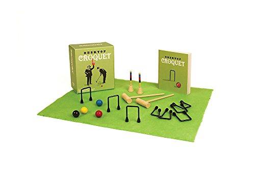 Desktop Croquet (Running Press Mini Kit)