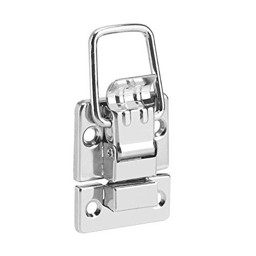 10 piezas de caja de joyería de metal cofres de pestillo de la maleta de bloqueo bisagra gancho de palanca
