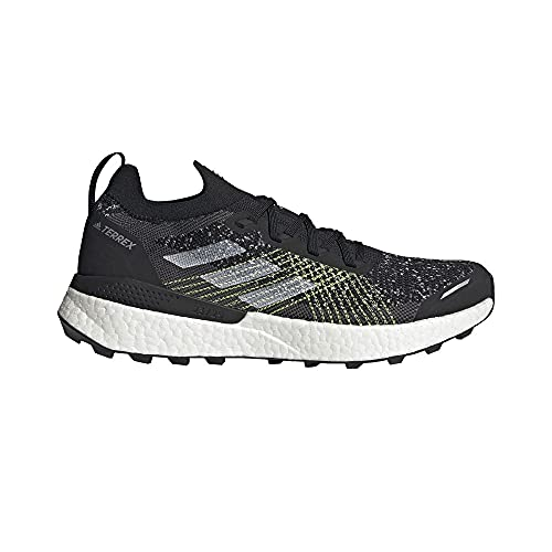 adidas Terrex Two Ultra PRIMEBLUE, Zapatillas de Trail Running Hombre, NEGBÁS/FTWBLA/Amasol, 39 1/3 EU