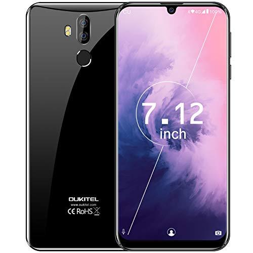 "OUKITEL K9 Unlocked Cell Phone,7.12"" FHD+ Screen 64GB ROM+4GB RAM Smartphone 16MP+8MP Dual Camera 6000mAh Battery Unlocked Cell Phones,Support OTG (Free Phone Protective Case to Gift)"