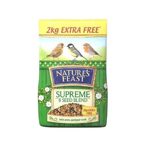Nature's Feast Supreme 8 Seed Blend Bird Food, 12.75 kg