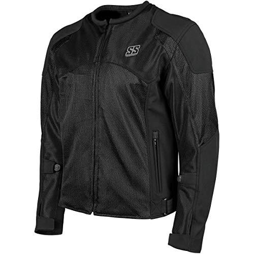 Speed & Strength Midnight Express Mesh Jacket (Black)