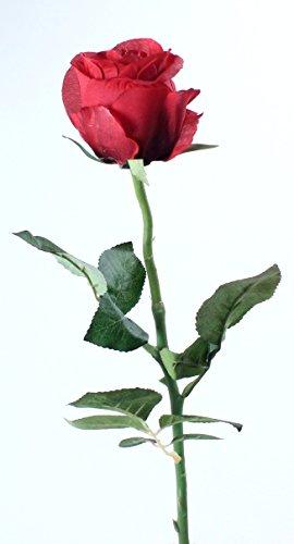Brasil-Rose Kunstrose groß, rot 55 cm