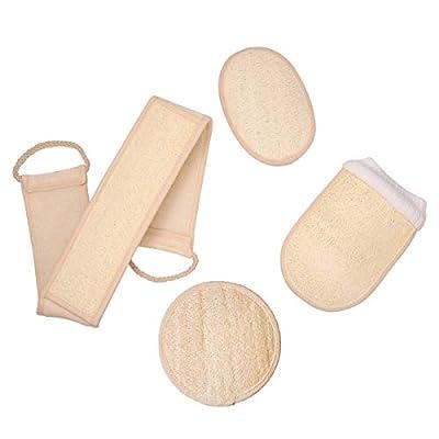 Luffaschwämme Rückenschrubber Peelinghandschuh in