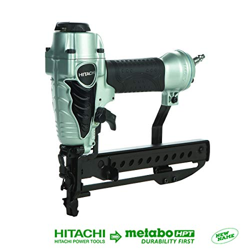 Hitachi N3804AB3 1/4' Narrow Crown Stapler, 18 Gauge,...
