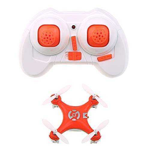 DishyKooker Cheer-Son CX-10 CX10 Mini 2.4G 4CH 6 Assi LED RC Quadcopter RTF Giallo