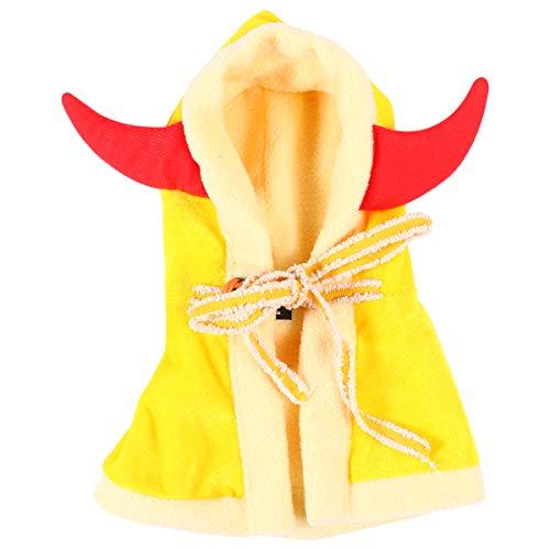 VILLCASE Ropa de perro de Halloween Funky Mascota Disfraces Traje de Moda Suministros de Mascota para Perro-Masco