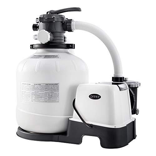 Intex – 230 V Sandfilter Pumpe & Saltwater System CG-26680 (26680)