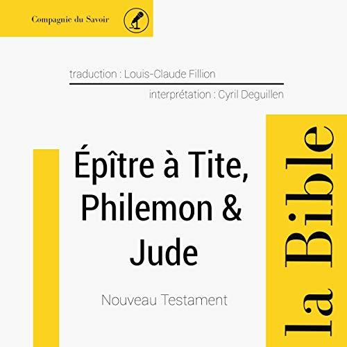 Couverture de Épître à Tite & Philémon & Jude