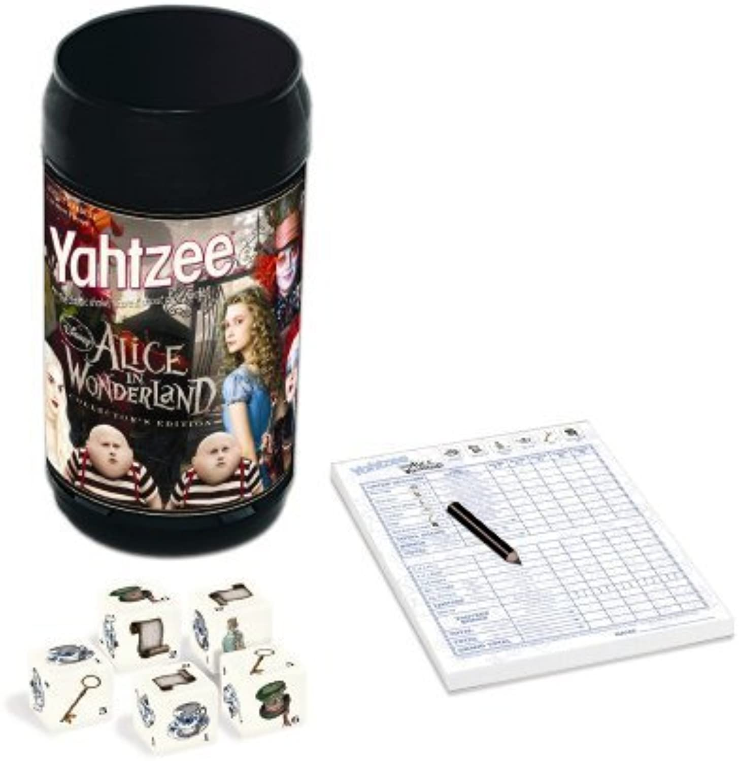 Usaopoly Alice In Wonderland Yahtzee by USAopoly