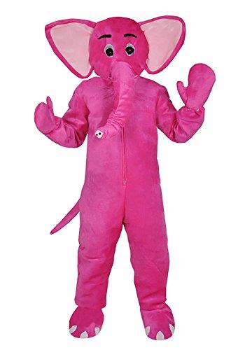 Elefant Pink Einheitsgrösse L - XL Kostüm Fasching Karneval Fastnacht Neu