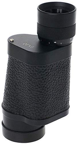 TEHWDE telescoop voor kinderen beginners volwassenen 8 x 30 met hoge vergroting HD nachtzicht voor de jacht vissen camping/gemakkelijk te dragen BKA4 zwart FAC breedband groene film