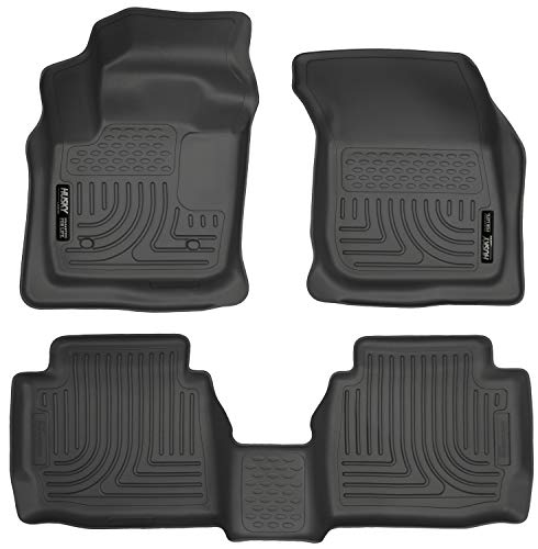 Husky Liners Fits 2013-2016 Ford Fusion Energi/Titanium, 2013-2016 Lincoln MKZ Weatherbeater Front & 2nd Seat Floor Mats 1999 Exclusive Car Mats