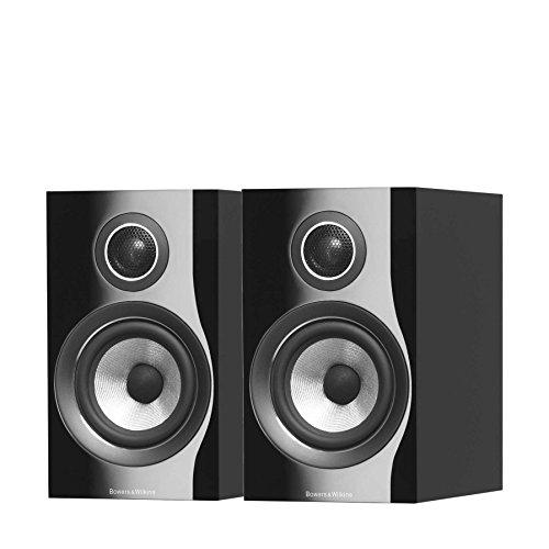 Bowers & Wilkins (B&W) 2way Book Shelf Type Speaker 707S2-B (Piano Black)...