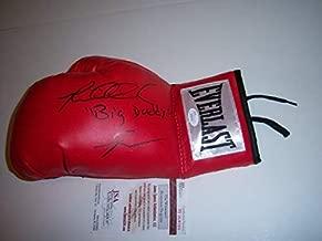 Riddick Bowe Big Daddy JSA Autographed Signed Boxing Glove