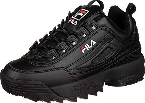 Fila Disruptor Low W Schuhe Black/Black