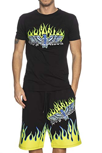 BOY LONDON T-Shirt Uomo MOD. BLU7030 Nero L