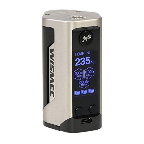 Wismec Reuleaux RX GEN3 Box MOD 300 W, Riccardo e-Zigarette / Akkuträger, silber gebürstet