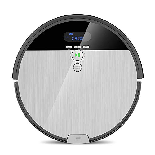 Fantastic Prices! YBZS Robot Vacuum Cleaner Sweep&Wet Mop Navigation Planned Cleaning 0.75L Dustbin ...