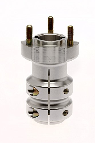 Étoile de roue arrière pour essieu de kart de 30 mm - Longueur : 62/95/115 mm - Argenté