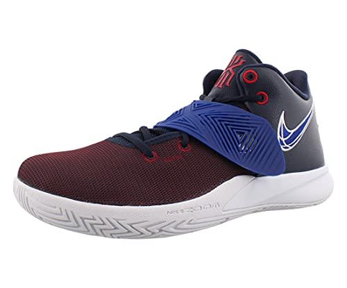 Nike Kyrie Flytrap III Hombre Basketball Trainers BQ3060 Sneakers Zapatos (UK 8.5 US 9.5 EU 43, Obsidian Deep Royal Blue 400)