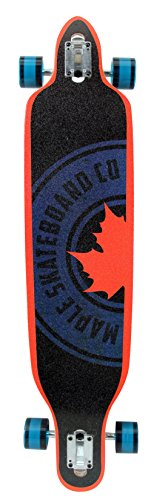 Maple Mellow Drop Through Longboard Blau/Orange 41
