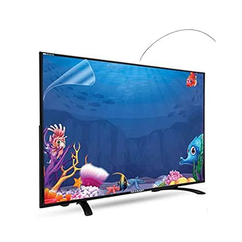 JHZDX Anti-Blaulicht-Displayschutzfolie für TCL/Samsung/Toshiba/Sony/LG/Hisense 32-75 Zoll TV Filter Out Blaulicht Anti-Glare Entlastung des Computers 165,1 cm 1429 * 804