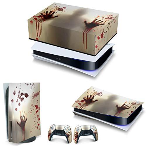 Capa Anti Poeira e Skin PS5 Horizontal - Fear The Walking Dead