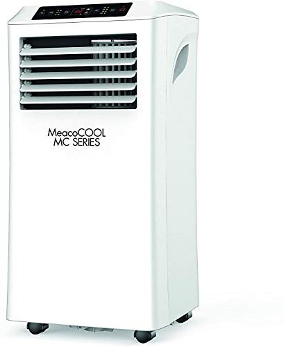 MeacoCool MC10000 Portable Air Conditioner 10000 BTU 4 in 1 Air Conditioning, Air Cooler, Heating with Fan Function, Remote Control, 24 Hour Timer & Window Venting Kit (10000BTU HEATING/COOLING)