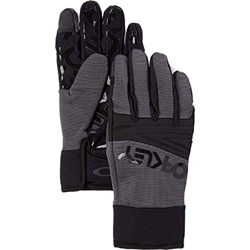 Oakley Factory Park Glove Ski Gloves Small Forged Iron