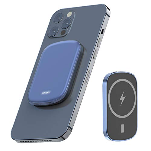 Magsafe モバイルバッテリー対応 iPhone12/Pro/Pro Max/mini【2021最新版】 5000mAh 大容量 軽薄 小型 15W/...