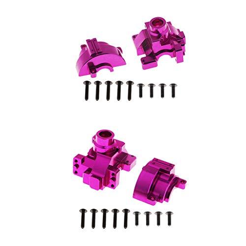 SM SunniMix 2PCS Boîte de Vitesse Pièces Détachées pour 1:10 Voiture Électrique RC HSP 94111 94123 - Violet