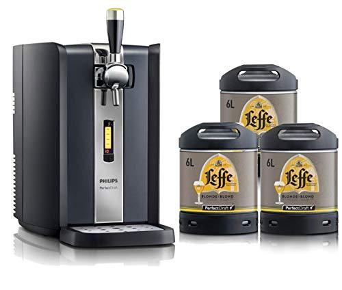 Pack machine PerfectDraft + 3 fûts Leffe - 15 euros de consigne inclus - Idée cadeau