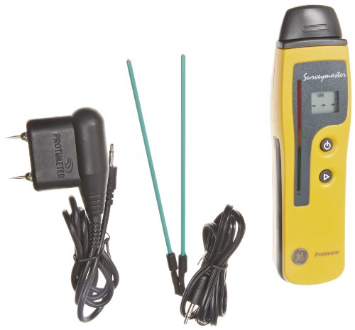GE Protimeter BLD5360 Surveymaster Dual Function Moisture Meter, LCD and LED Display, 7
