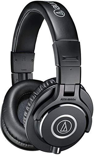 audio-technica プロフェッショナルモニターヘッドホン ブラック レギュラー ATH-M40x