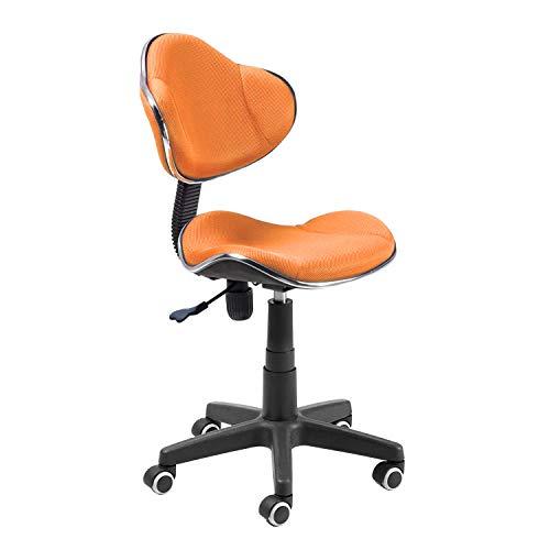 duehome Silla de Oficina Juvenil, Color Naranja