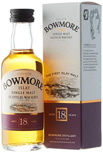 Bowmore 18 Years Old Single Malt Scotch Whisky in Gift Box - 50 ml