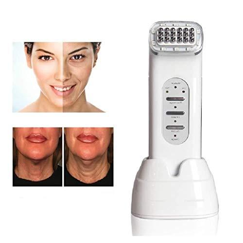 Wiederaufladbare Beauty Gesichtstherapiegerät Dot Matrix LED Skin Care Maschine for Face Lifting, Aufzug-Körper Haut, Faltenentfernung, Hautpflege Anzug 0219