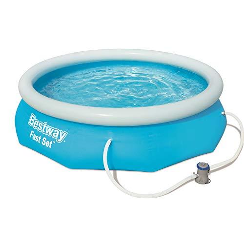 Bestway Fast Set Pool Set mit Filterpumpe 305x76cm