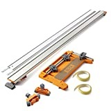 Bora 5-Piece NGX Set Including 50-inch clamp edge, 50-inch clamp edge extension, Pro Saw Plate, Non-Chip Strip, Track Clamps, 544500